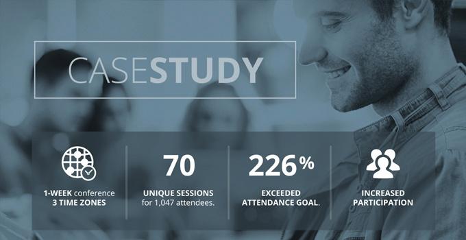 Case Study | Virtual Conference Webinar